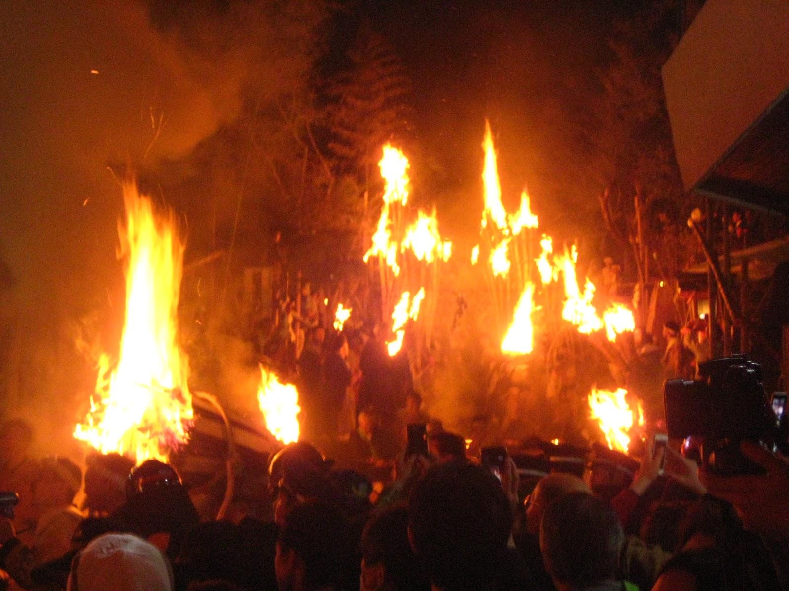 鞍馬の火祭 その4
