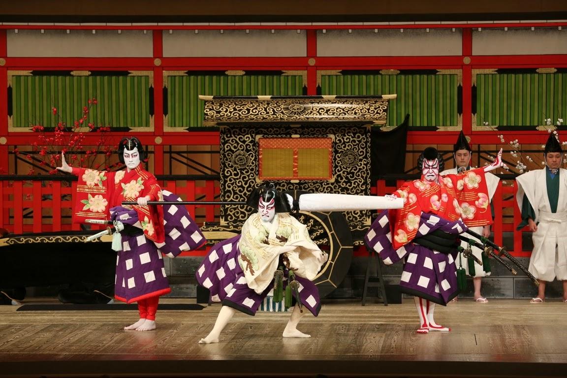 『 歌舞伎の衣装のおはなし 』のレポート その2