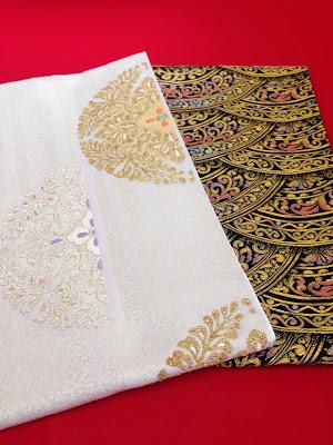 美しいキモノ 秋号に掲載する袋帯
